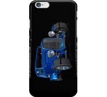 Blue Ford Hot Rod iPhone Case/Skin