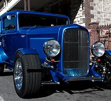 Blue Ford Hot Rod by Ferenghi