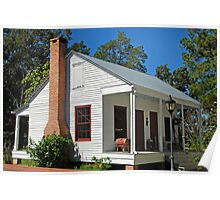 Little Cajun Cottage Poster