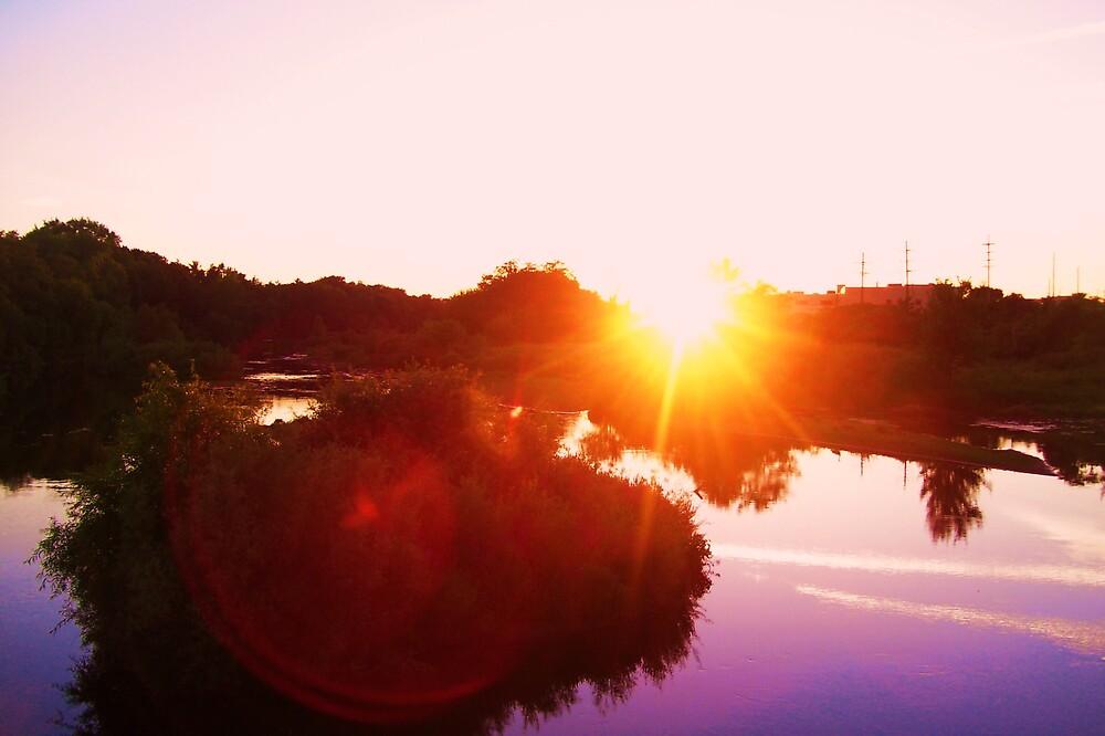 sunlight's glare by Katie Hoisington