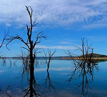 Lake Eucumbene by Bryan Cossart