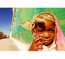 Art in All of Us in Mozambique Photographic Print