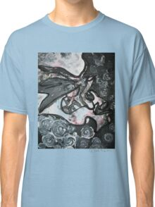 Gray Abstract Classic T-Shirt