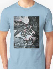 Gray Abstract T-Shirt
