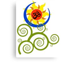 AUM : Tree of Life Canvas Print