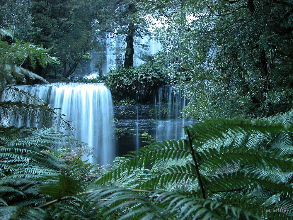 Russell Falls - Tasmania by thanatos