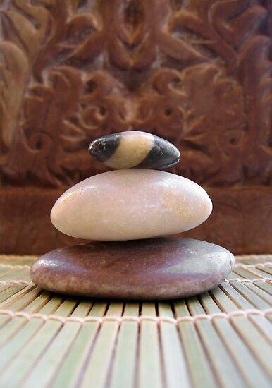 Zen Stones by Ye Liew