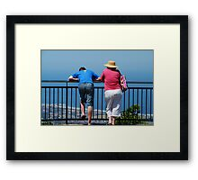 Cupla bums Framed Print