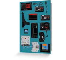 Pixel History - Sega Greeting Card