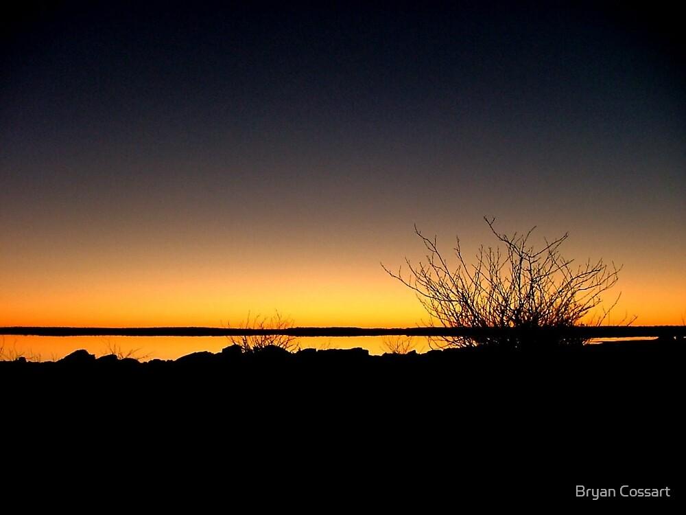 Lake Caroline Silhouette by Bryan Cossart