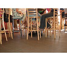 Under the table Photographic Print