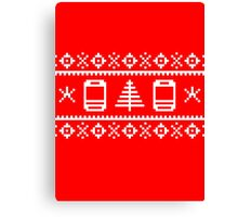 BB Ugly Sweater Canvas Print
