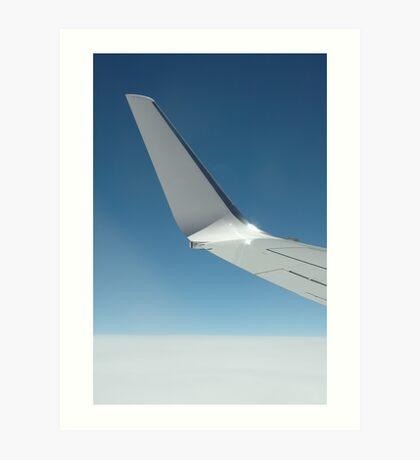 Flying above heaven Art Print