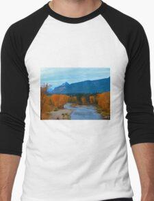 Autumn River Men's Baseball ¾ T-Shirt