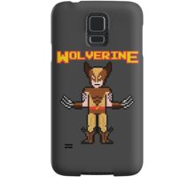 8Bit Wolverine (Brown) Samsung Galaxy Case/Skin
