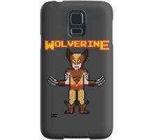 8Bit Wolverine (Brown) Samsung Galaxy Case/Skin