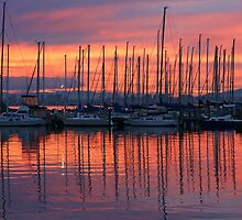 Williamstown Sunrise by Harry Oldmeadow