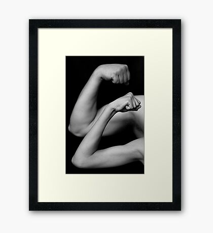 Twice the Power Framed Print