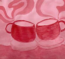 Tea Time Painting  by mocha25