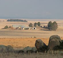 Cooma Landscape by Bryan Cossart