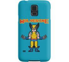 8Bit Wolverine Samsung Galaxy Case/Skin