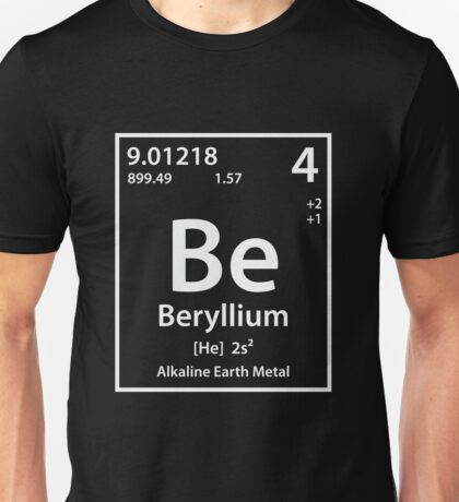 Beryllium Element Unisex T-Shirt