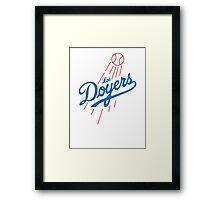 Los Doyers Framed Print