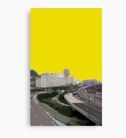 interchange Canvas Print