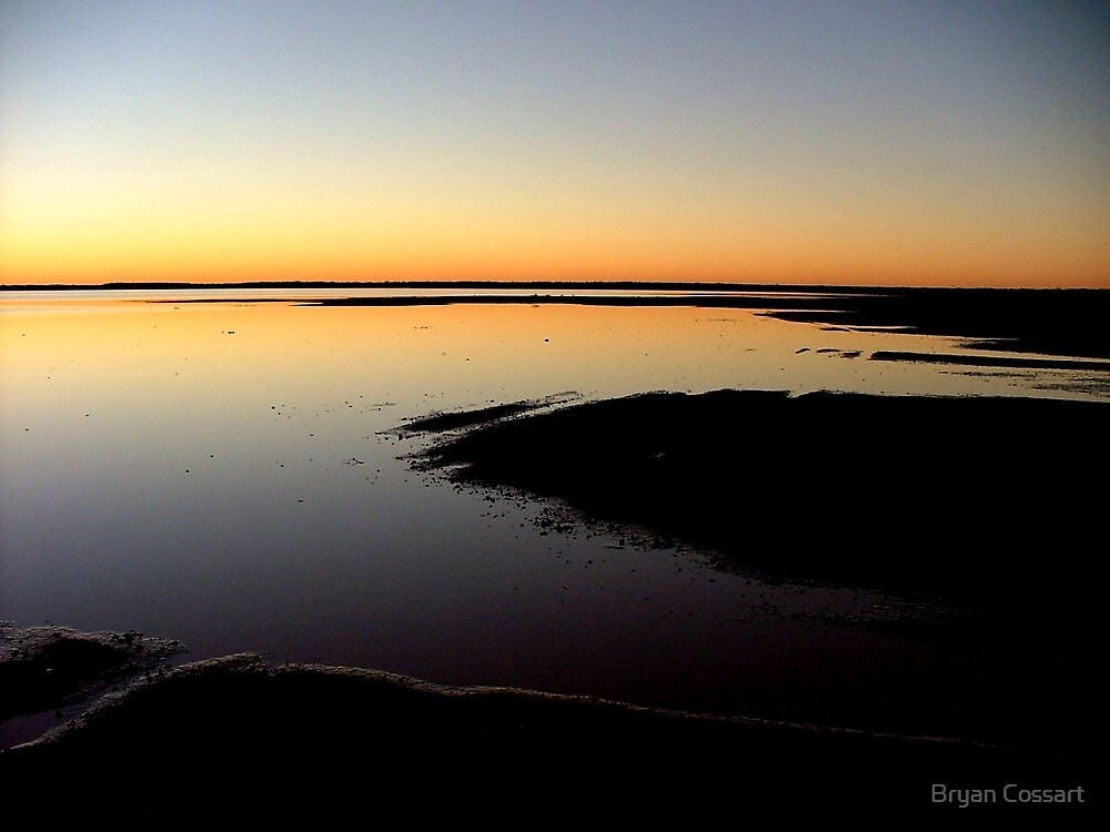 Lake Caroline Evening by Bryan Cossart