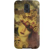 The clockwork tells me what to see Samsung Galaxy Case/Skin