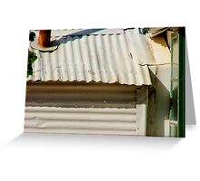 Tin Shed (Actually Old Andado Homestead) Greeting Card