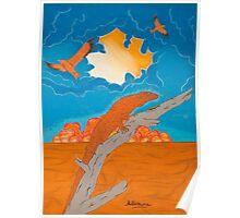 Desert Lands Poster