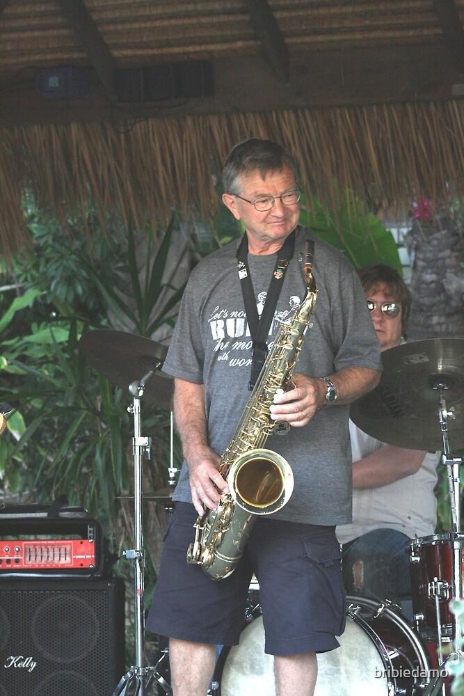 Otto on sax at Blueys' by bribiedamo