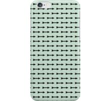 Mint and Black Arrows iPhone Case/Skin