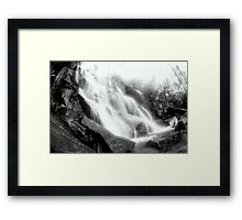 Toronga Falls... Framed Print