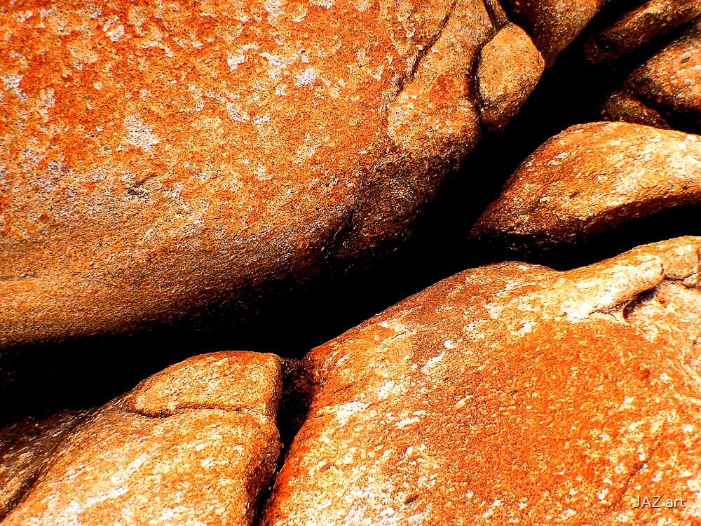 Red Rocks... by JAZ art