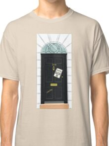 SuperWhoLocked in 221B Classic T-Shirt