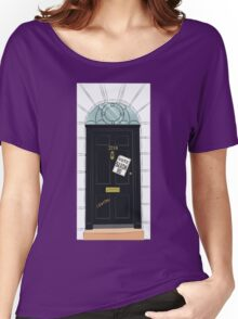 SuperWhoLocked in 221B Women's Relaxed Fit T-Shirt