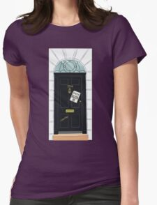 SuperWhoLocked in 221B Womens Fitted T-Shirt