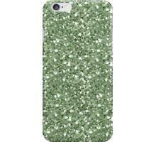 Glittery Green iPhone Case/Skin