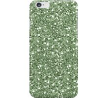 Glittery Green iPhone Case/Skin