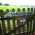 Walk to the pub by fotologic