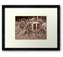 Tractor 2 Framed Print