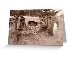 Tractor 1 Greeting Card