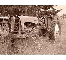 Tractor 1 Photographic Print