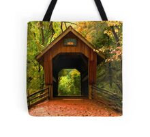 Covered Bridge,Little Hope Wisconsin  Tote Bag