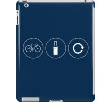 Ride. Relax. Repeat. iPad Case/Skin