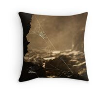 Webs v1 Throw Pillow