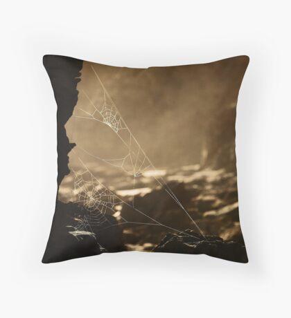 Webs v1 Throw Pillow