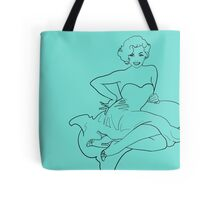 Cheeky Marilyn Monroe Retro Pin Up Tote Bag